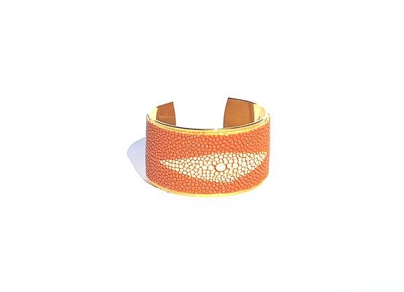 HORUS orange - Galuchat de raie