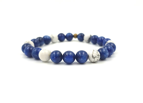 For men - Cyanite et Howlite