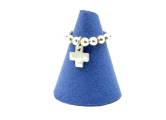 Bague argent 925 - pendentif croix