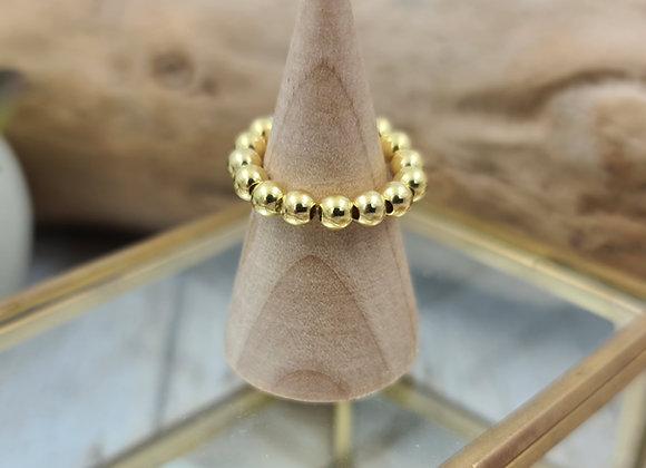 Bague 1 rang gold filled - simple
