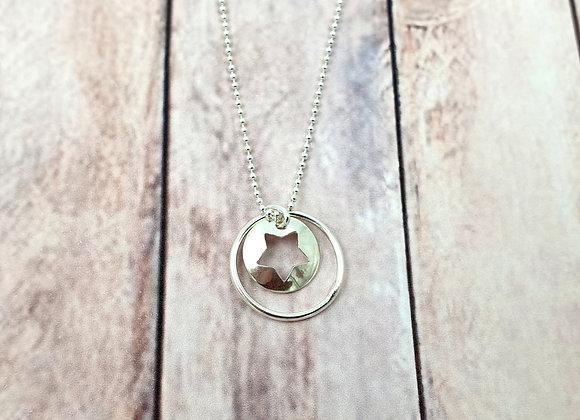 Collier argent 925 - pendentif étoile