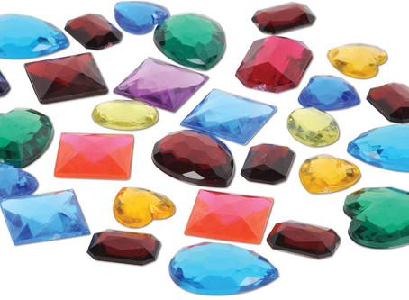 Les pierres par couleur
