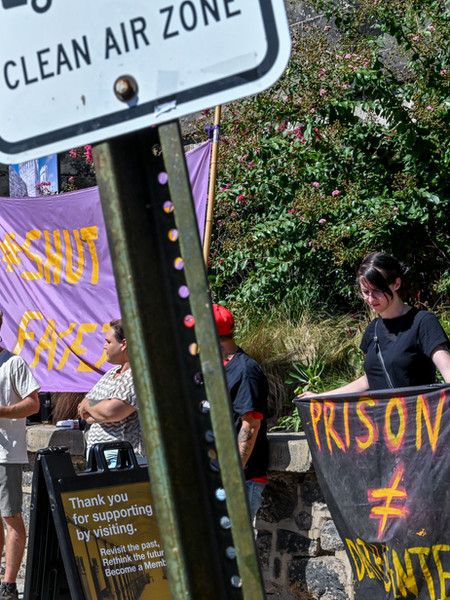 """""""Fight for them or they die:"""" Protestors rally against toxic prisons"""