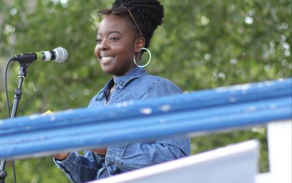 EHV chats with BLM Protest Organiser and Activist, Shekinah Swamba