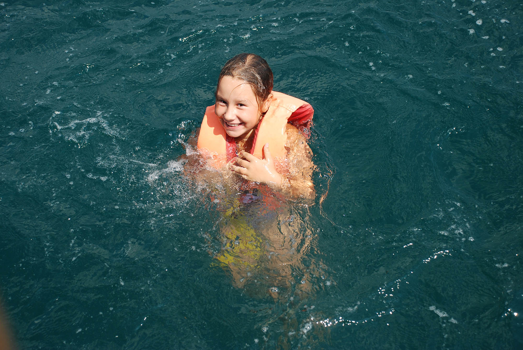 Морская прогулка, купанее в море