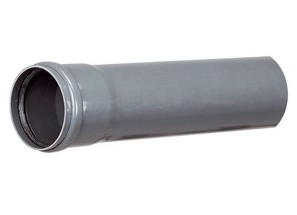 Tuyau PVC à joint diam. 125 mm L. 3 m CR8 SN8 NF pour l'assainissement