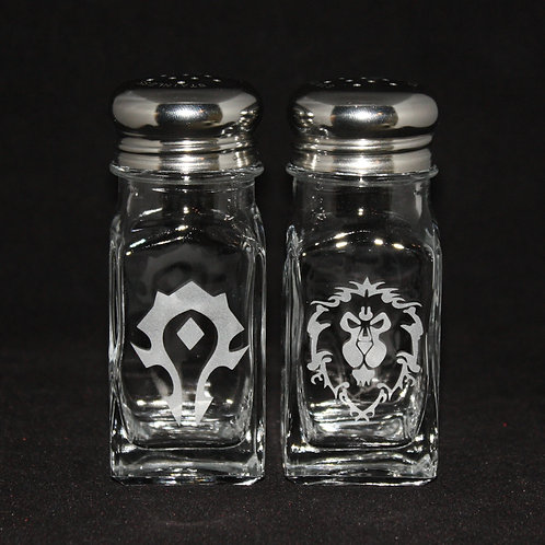 World of Warcraft Horde & Alliance Shaker Set