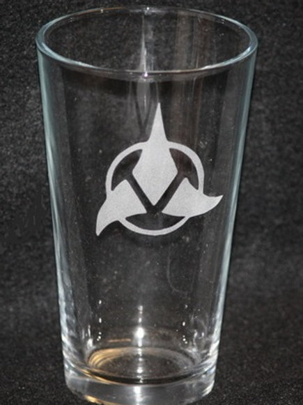Star Trek Klingon Symbol Pint Glass