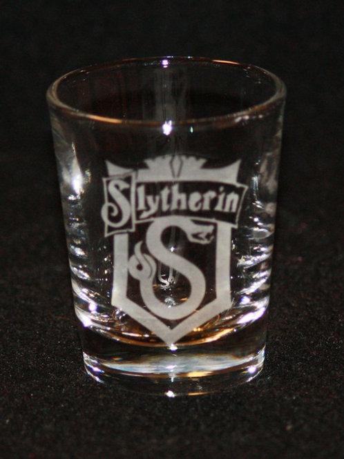 Harry Potter Slytherin House Crest Shot Glass