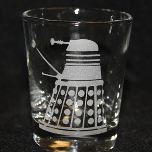 Doctor Who Dalek Shot Glass