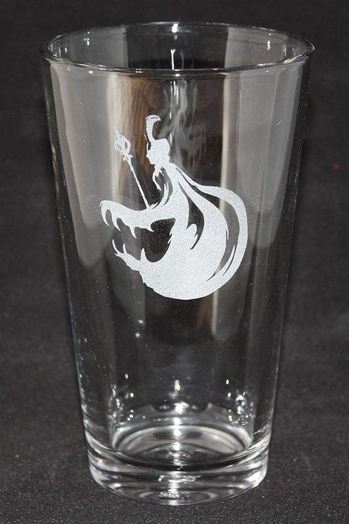 Loki God of Mischief Pint Glass