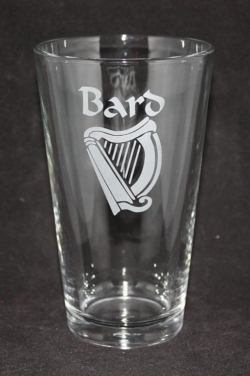 Bard Character Pint Glass