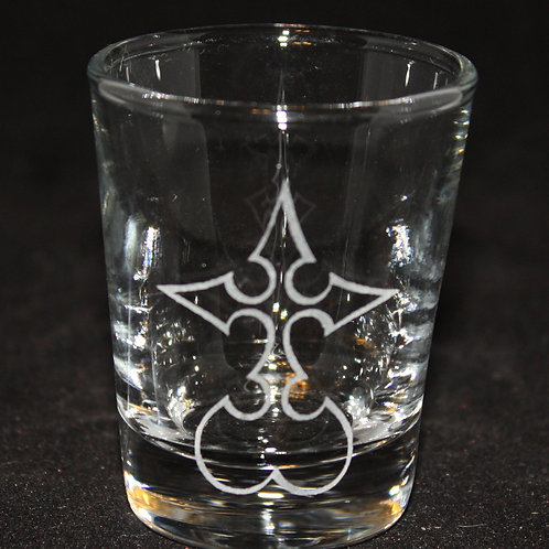 Kingdom Hearts Nobody Symbol Shot Glass