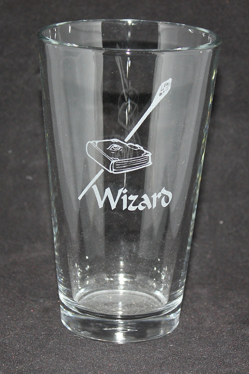 Wizard Character Pint Glass