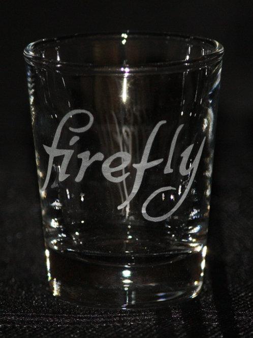 Firefly Serenity Firefly Logo Shot Glass