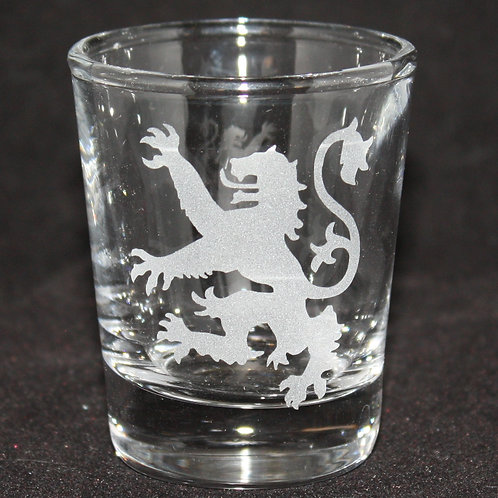 Game of Thrones House Lannister Shot Glass