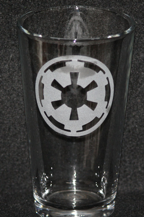 Star Wars Empire Pint Glass