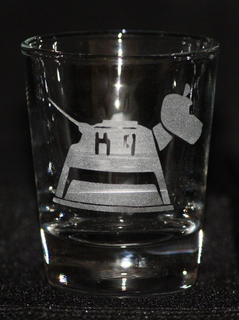 Doctor Who K9 Shot Glass