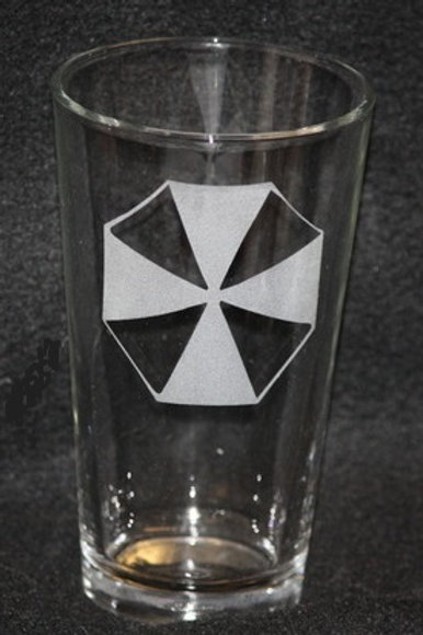 Umbrella Corporation Resident Evil Pint Glass