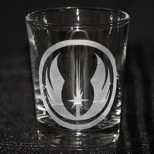 Star Wars Jedi Academy Shot Glass