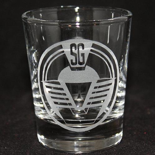 Stargate SG-1 Patch Shot Glass