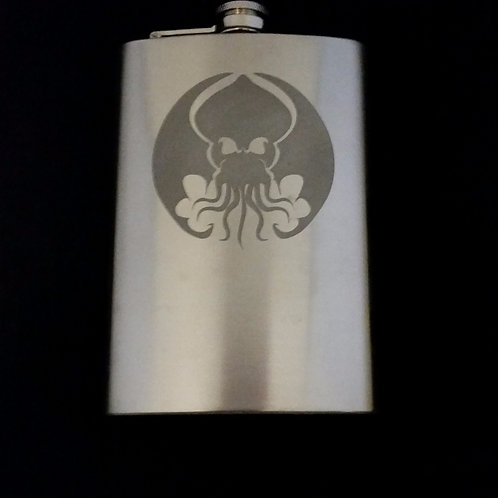 Cthulhu Elder Gods Hellboy Metal Flask