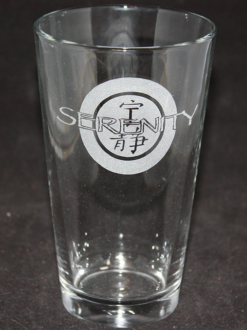 Firefly Serenity Logo Pint Glass