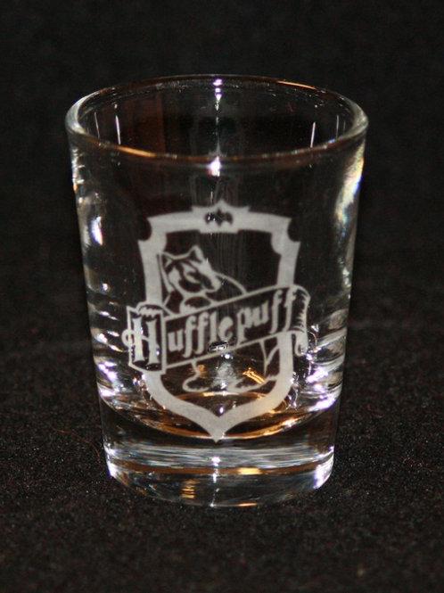 Harry Potter Hufflepuff House Crest Shot Glass