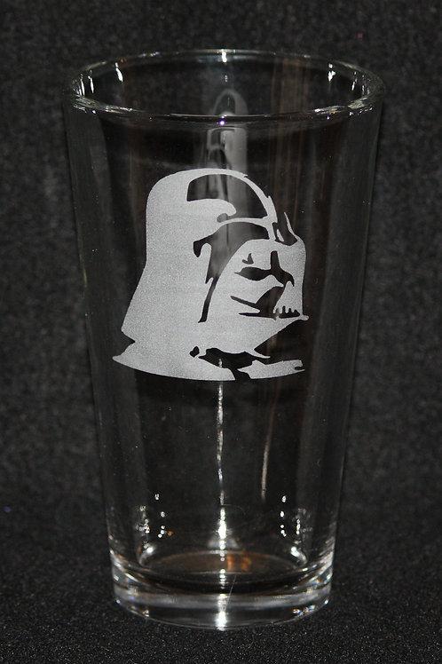 Star Wars Darth Vader Pint Glass