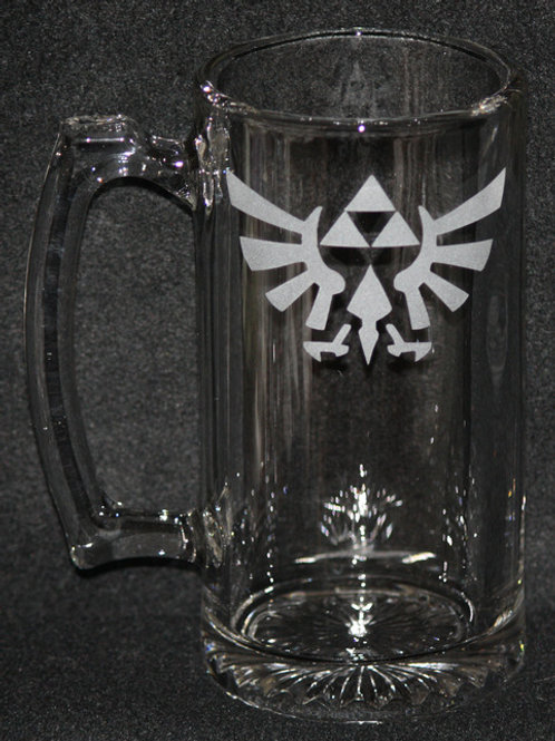 Legend of Zelda Triforce Hyrulian Crest Mug