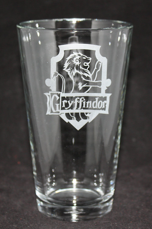 Harry Potter Gryffindor House Crest Pint Glass