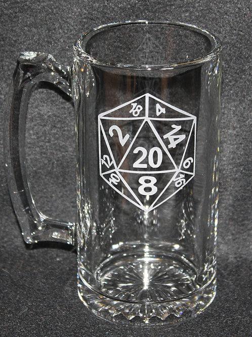 D20 Dice Symbol Mug