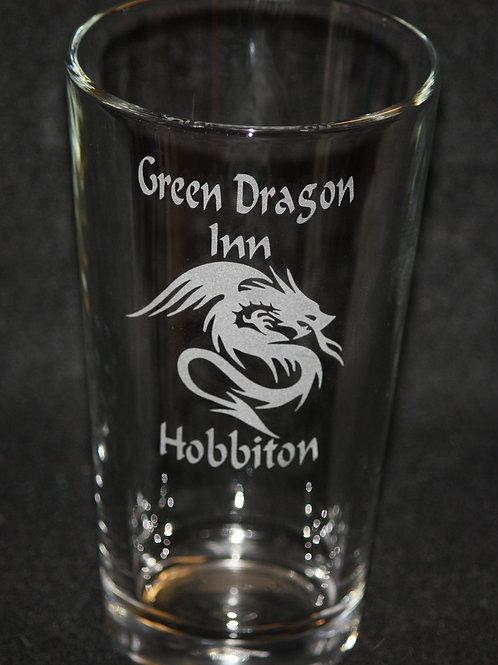 Lord of the Rings Green Dragon Inn Pint Glass