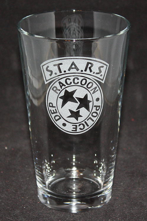 Umbrella Corporation STARS Pint Glass