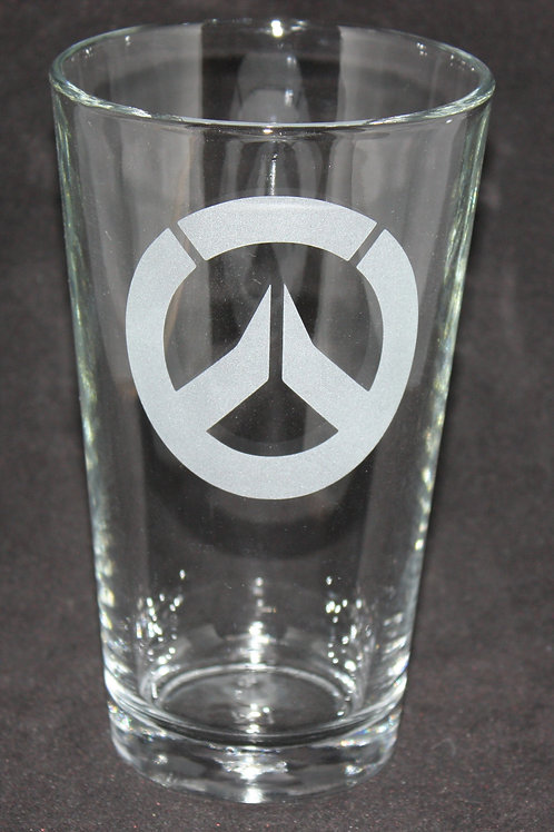Overwatch Pint Glass