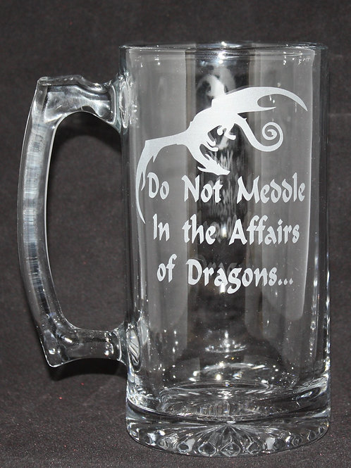 Lord of the Rings Affairs of Dragons Mug