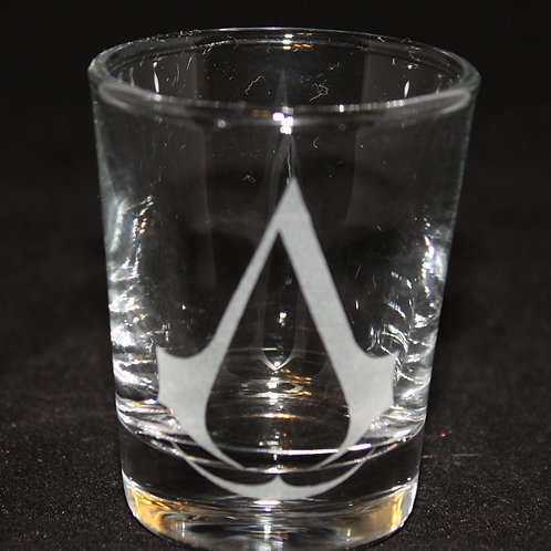Assassin's Creed Symbol Shot Glass