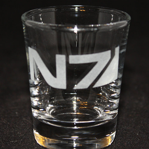 Mass Effect N7 Symbol Shot Glass