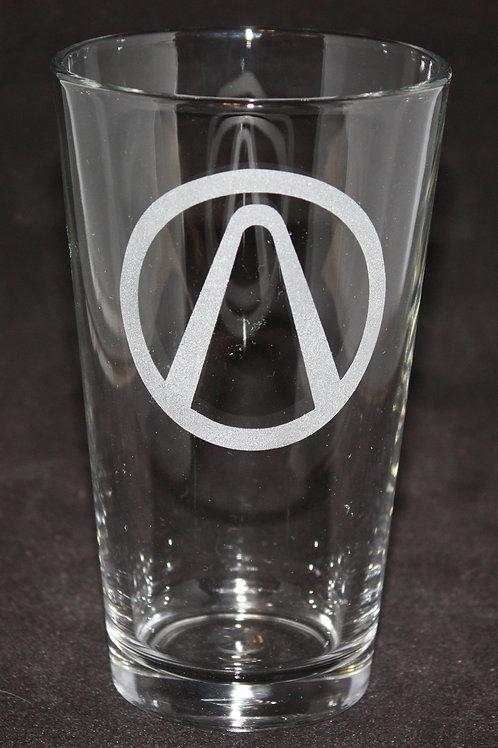 Borderlands Vault Pint Glass