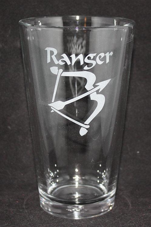 Ranger Character Pint Glass