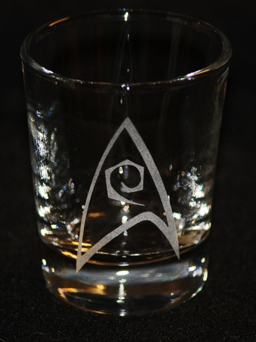 Star Trek Engineering Symbol Shot Glass