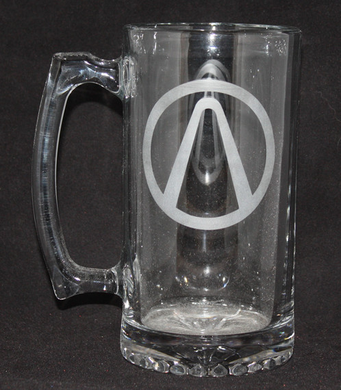Borderlands Vault Symbol Glass Mug
