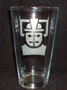 Doctor Who Cyberman Pint Glass