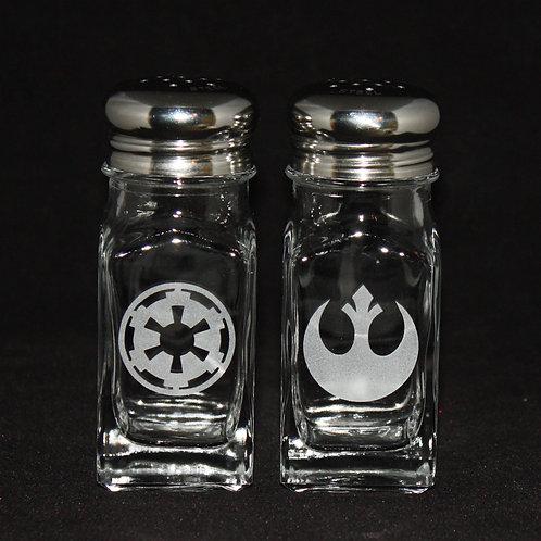 Star Wars Empire & Rebel Shaker Set