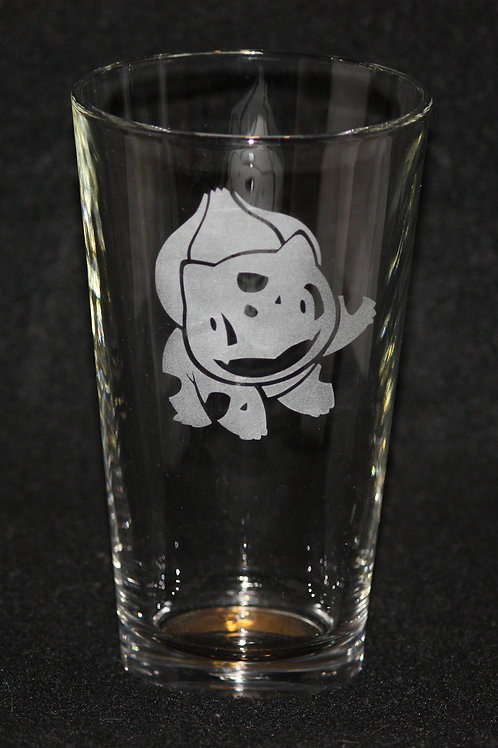 Pokemon Bulbasaur Pint Glass