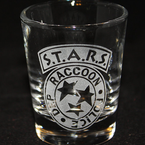 Resident Evil S.T.A.R.S. Symbol Shot Glass