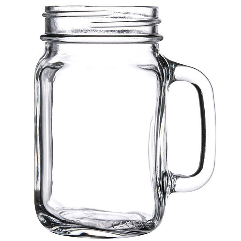 """Design Your Own"" Mason Jar Mug"