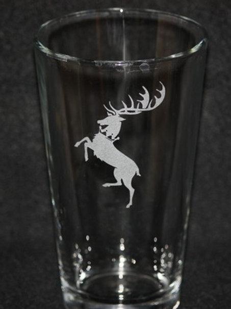 Game of Thrones House Baratheon Pint Glass