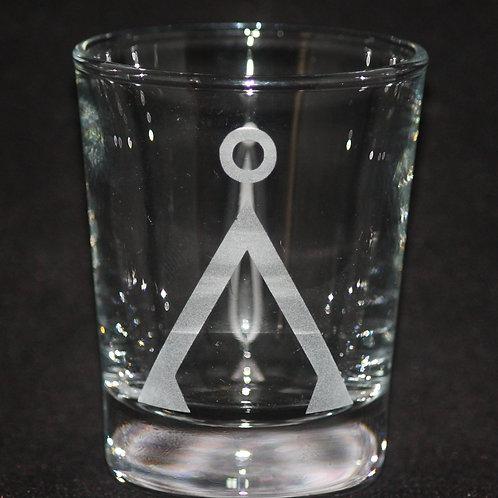 Stargate SG-1 Earth Symbol Shot Glass