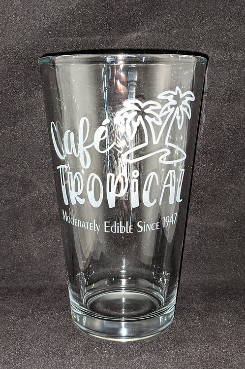 Schitt's Creek Cafe Tropical Pint Glass